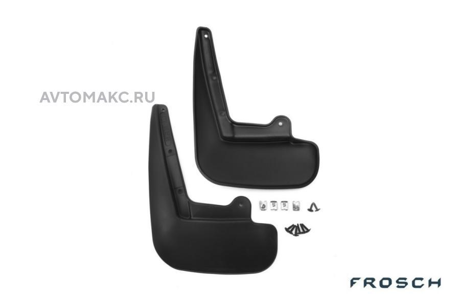 Брызговики задние TOYOTA Corolla, 2013-> сед. 2 шт.(стандарт)