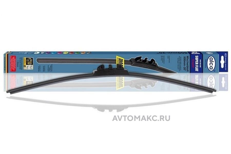 Щётка стеклоочистителя SUPER FLAT 450мм(048000)
