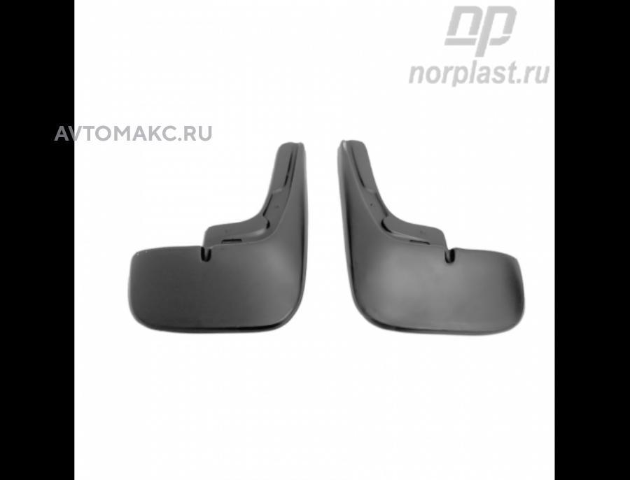 Брызговики Citroen Jumper 2006 без расширителей арок задние,пара (NPLBR1465B)