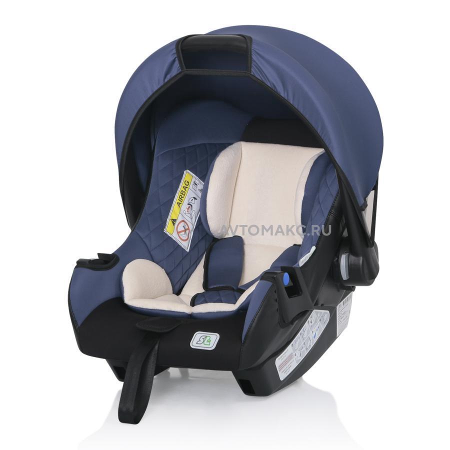 Детское автомобильное кресло First Smart Travel blue (KRES2080)
