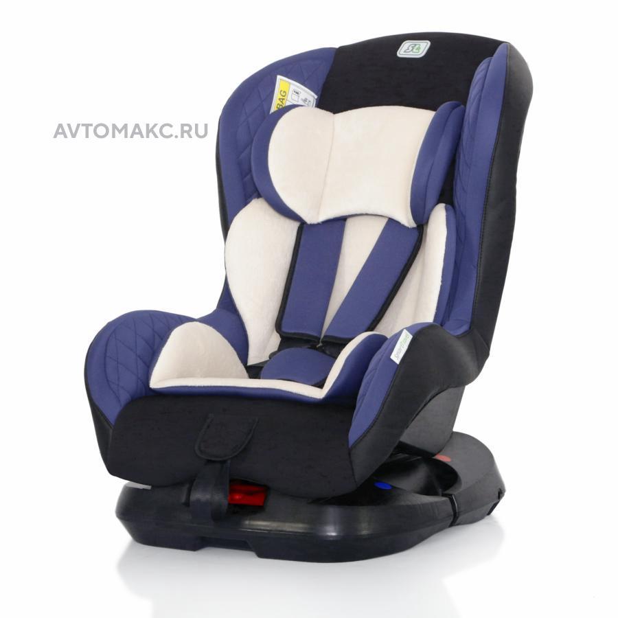 Детское автомобильное кресло Leader Smart Travel blue (KRES2077)