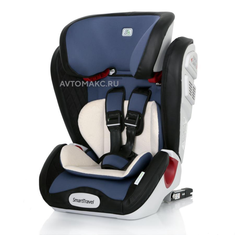 Детское автомобильное кресло Magnate Isofix Smart Travel blue (KRES2068)