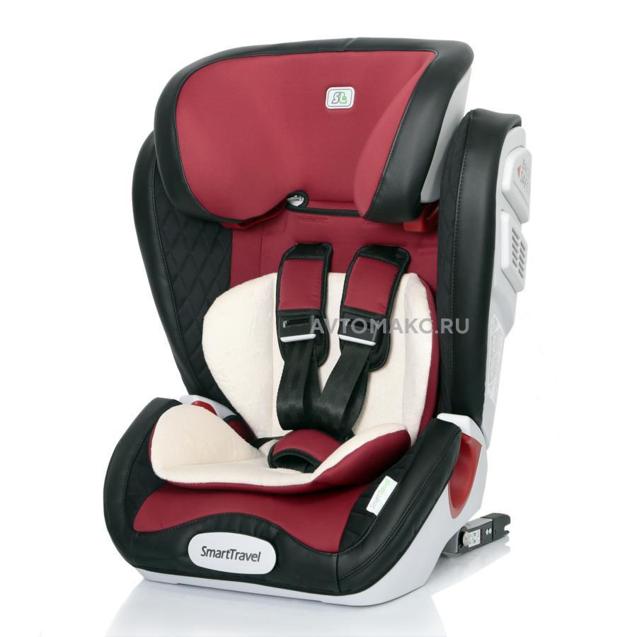 Детское автомобильное кресло Magnate Isofix Smart Travel marsala (KRES2069)