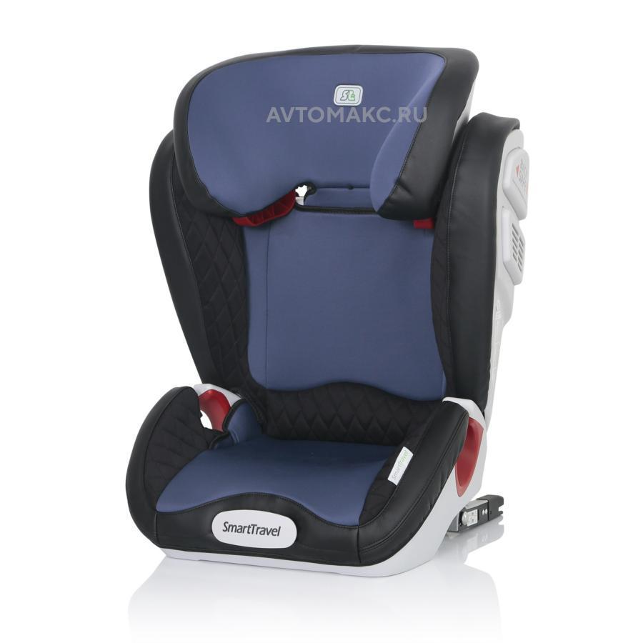 Детское автомобильное кресло Expert Fix Smart Travel blue (KRES2071)