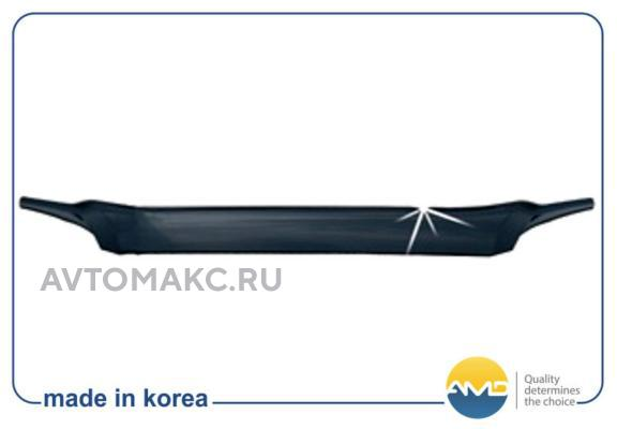 Дефлектор капота KIA Sportage 2004-2009 (AMDHG21)