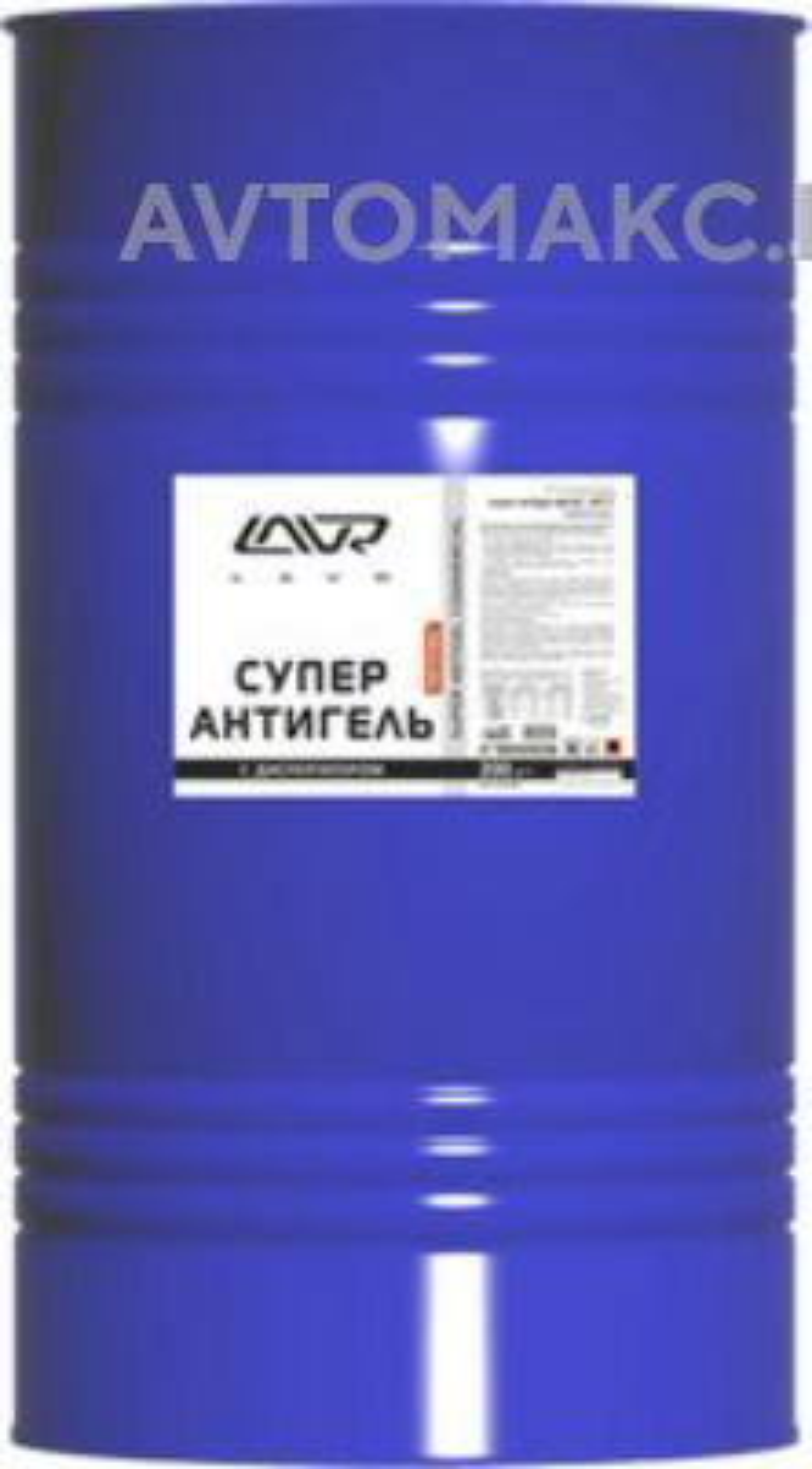Суперантигель присадка в дизельное топливо LAVR Super Antigel Commercial, 200л (LN2120)