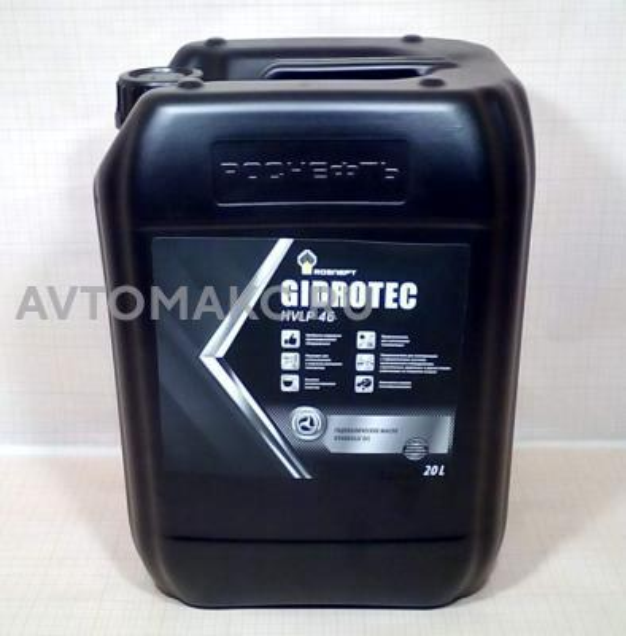 Масло гидравлическое Rosneft Gidrotec OE HVLP 46 20 л 40839060