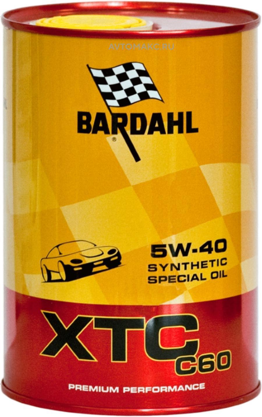 5W40 SN/CF XTC C60 1L (специальное синт. моторное масло)