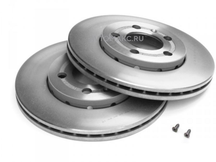 Тормозной диск (вентилир.)