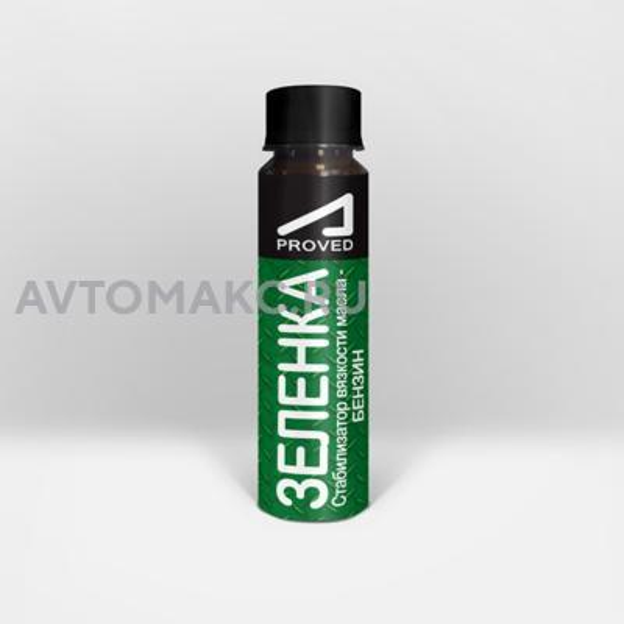 Зеленка стабилизатор вязкости масла - бензин(APD0406)