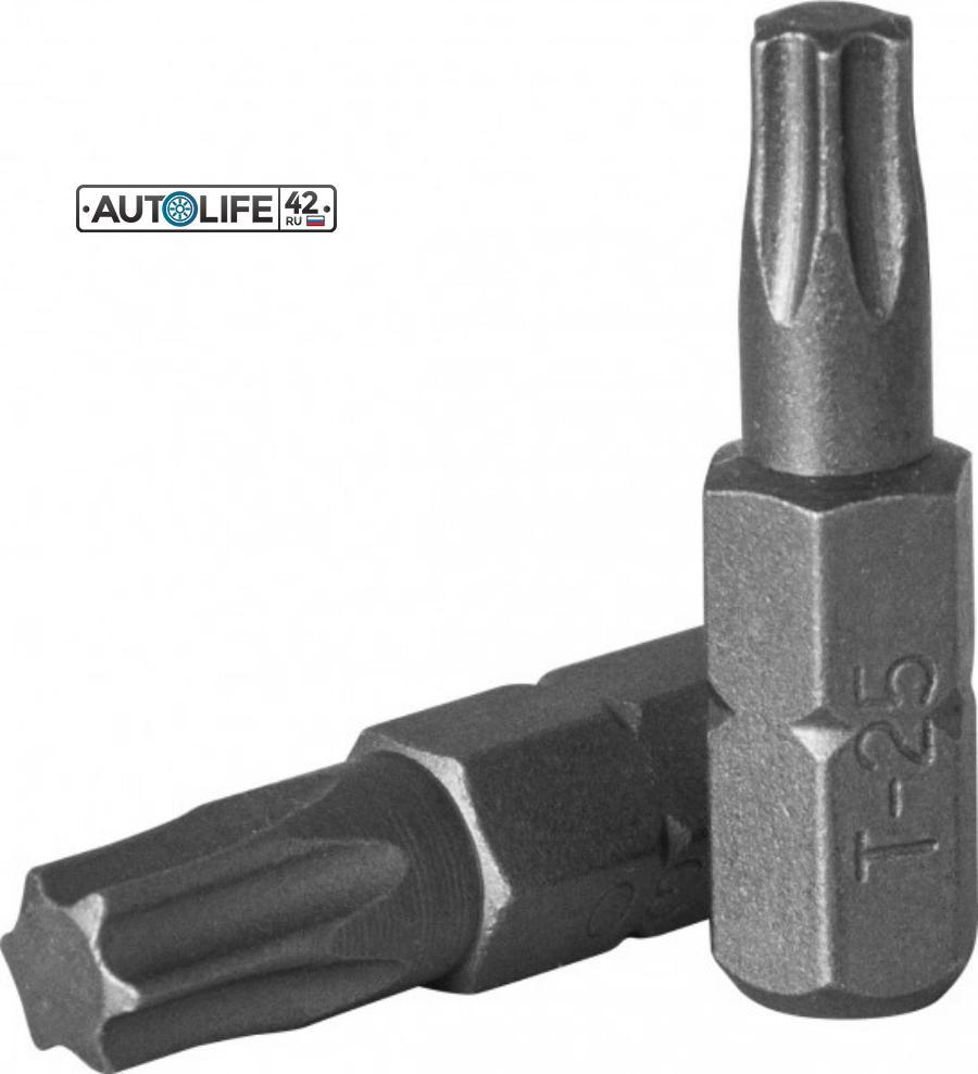 """Вставка-бита 1/4""""DRx25 мм TORX T 30"""