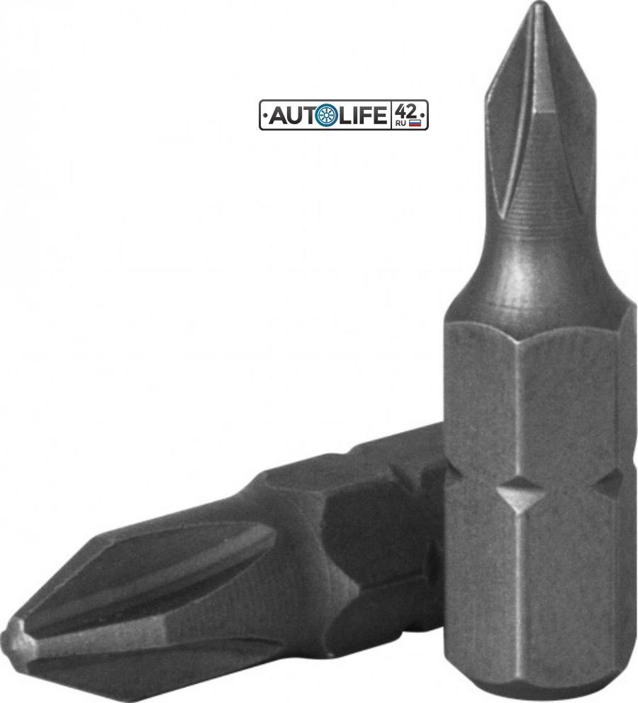 """Вставка-бита 1/4""""DRx25 мм РН № 2"""