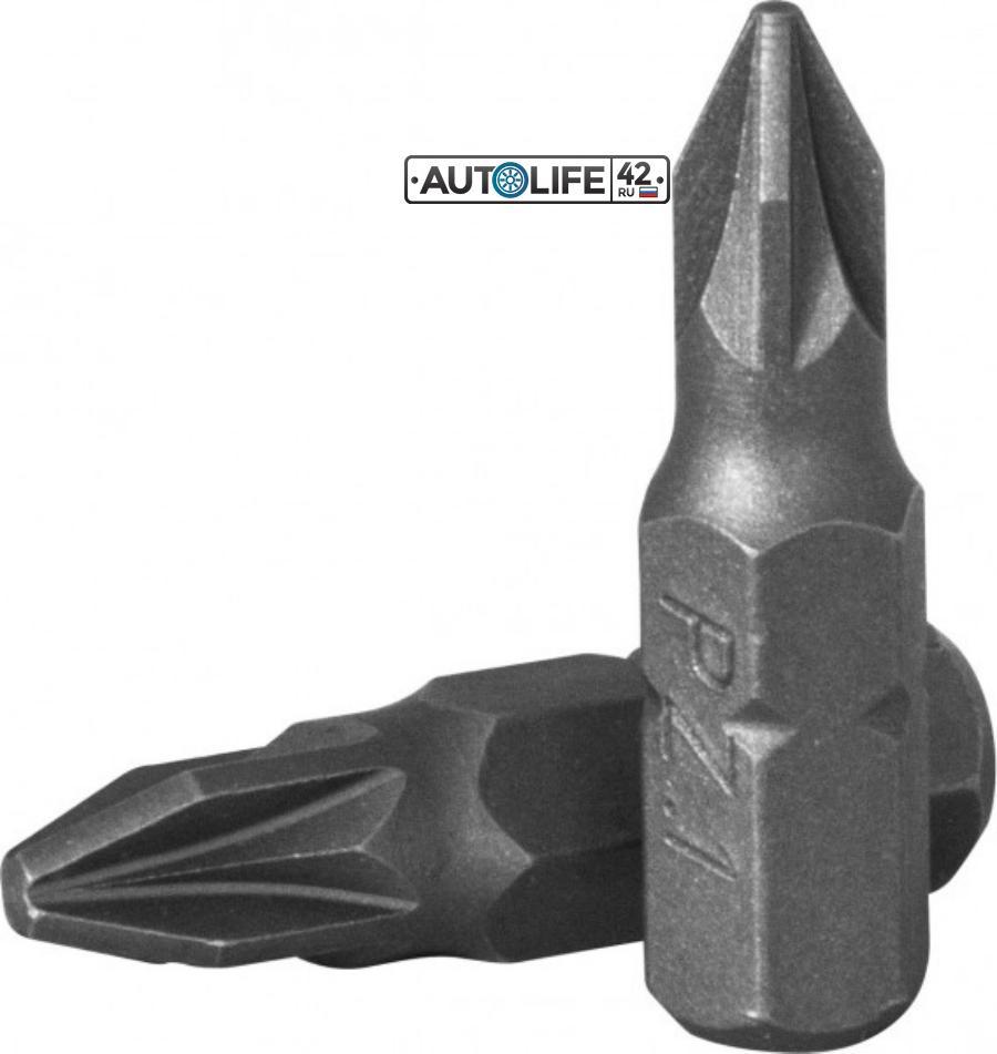 """Вставка-бита 1/4""""DRx25 мм PZ № 1"""