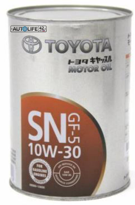 Масло моторное минеральное SN 10W-30, 1л