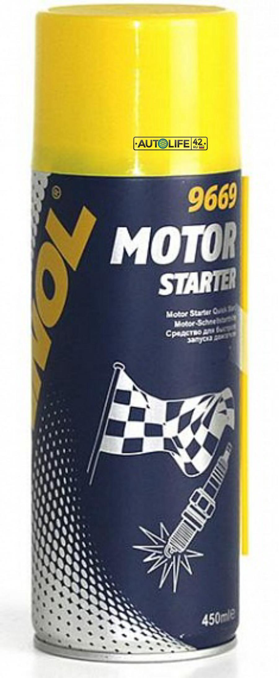 Быстрый старт двигателя MANNOL Motor Starter