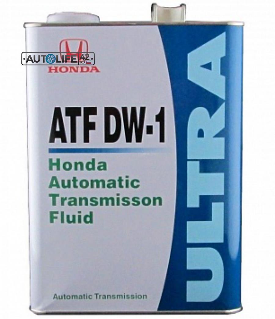 Масло трансмиссионное синтетическое ATF DW-1 Fluid, 4л