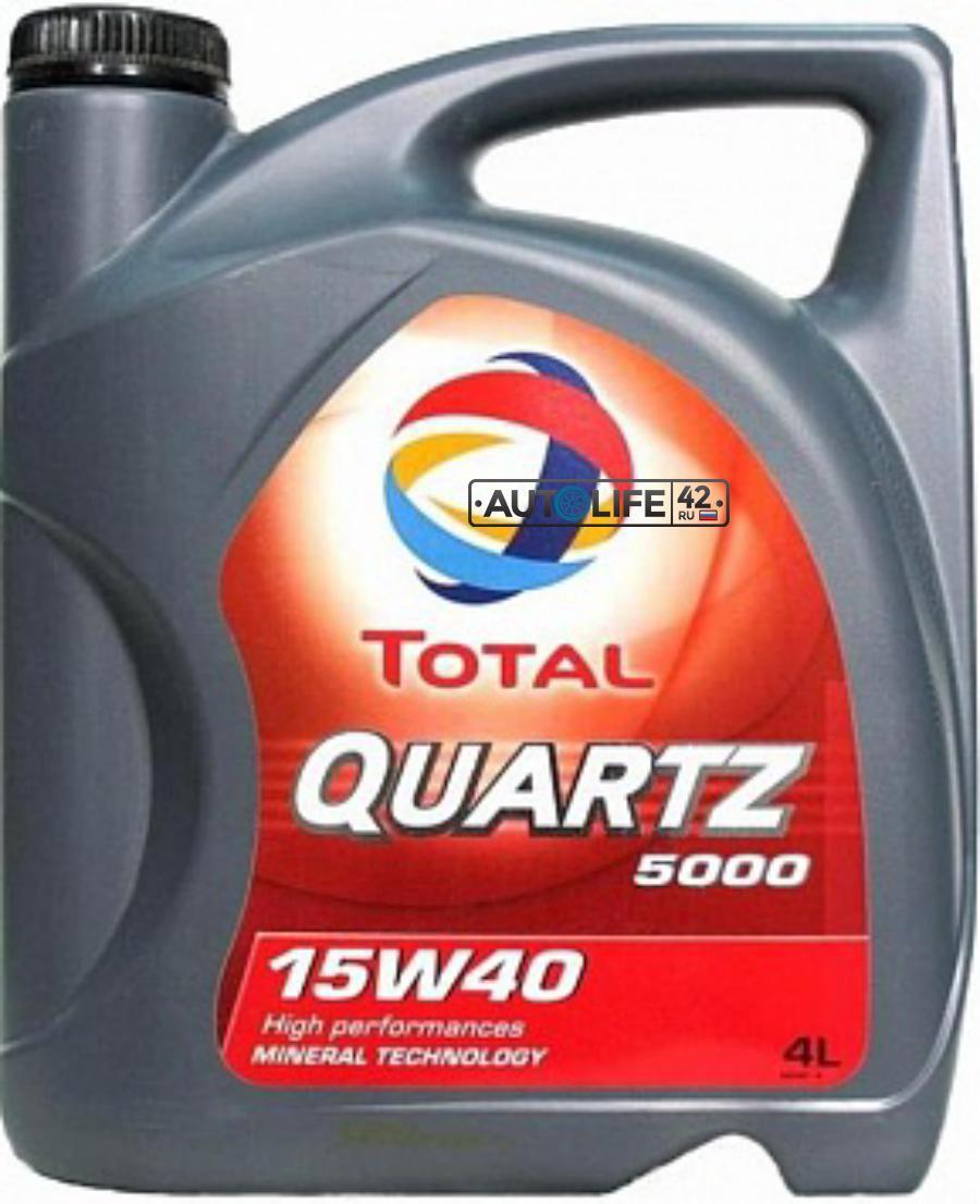 TOTAL Quartz 5000 15w-40