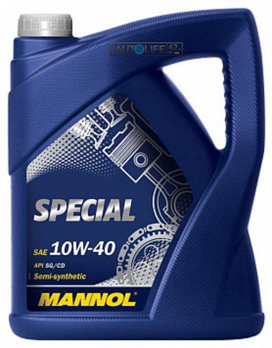 Масло моторное полусинтетическое Special 10W-40, 5л
