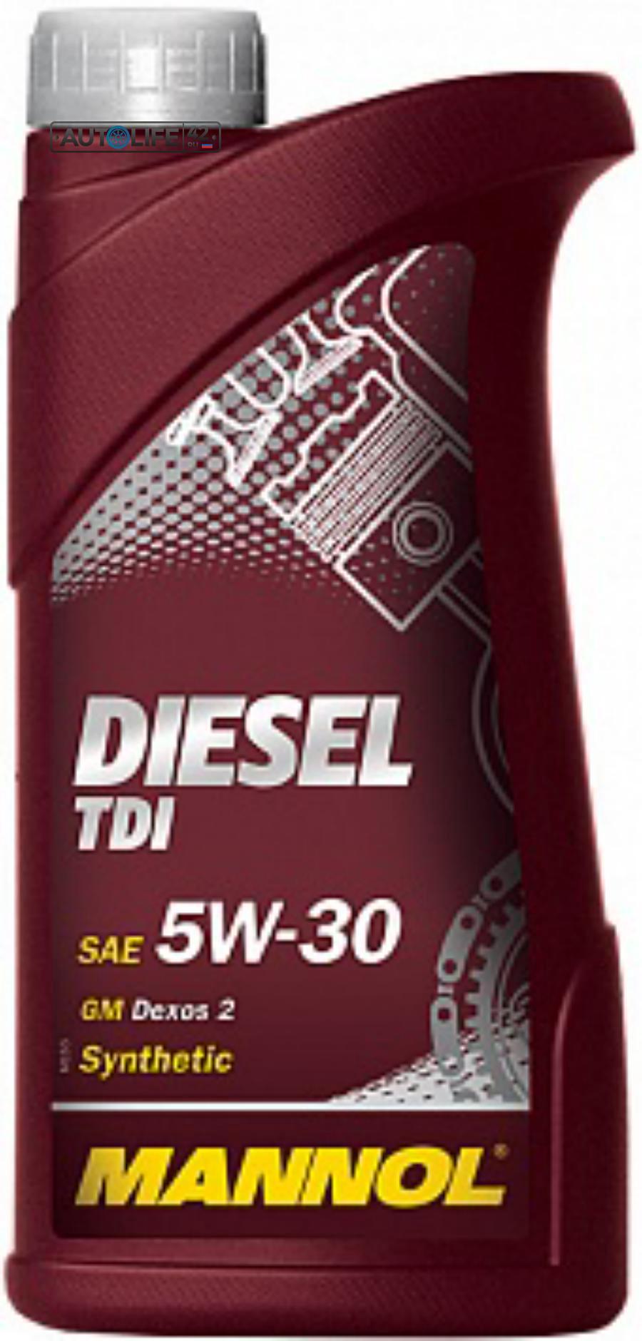 Масло моторное синтетическое Diesel TDI 5W-30, 1л
