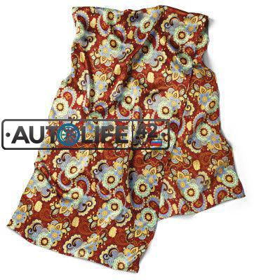 Шейный платок Volkswagen Ladies Silk Scarf Multi Colored