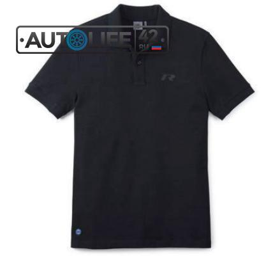 Мужская рубашка-поло Volkswagen R-Line Men's Polo Shirt Black