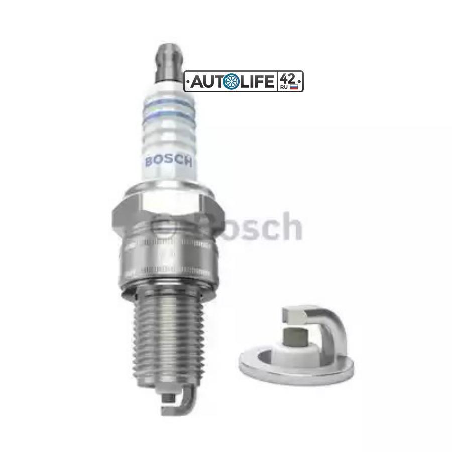 Свеча зажигания SUPER R ВАЗ-2110 инж. 8кл ГАЗель-Бизнес 4216 (интервал замены - max., BRISK
