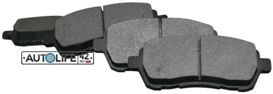 Комплект тормозных колодок, дисковый тормозЗад