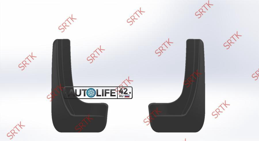 Брызговики резиновые для Volkswagen Polo SD (2009-2015) Задние