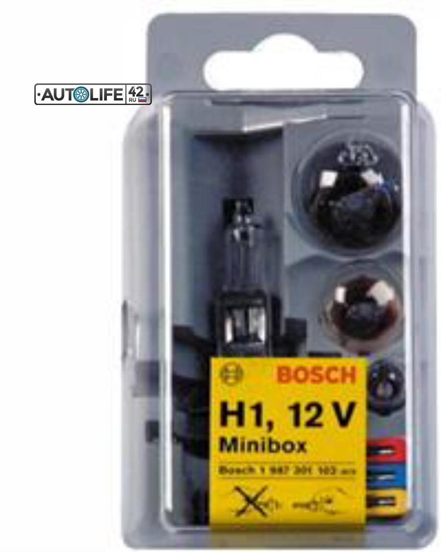 Лампа галоген Minibox H1 12В 4-55Вт