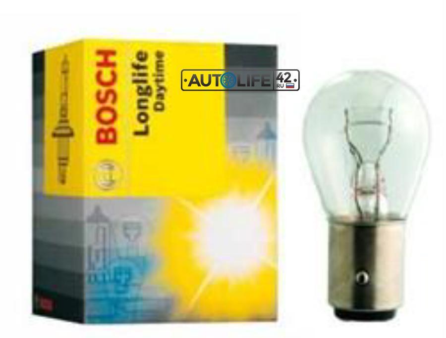 Лампа накаливания Longlife Daytime P21/5W 12В 21/5Вт