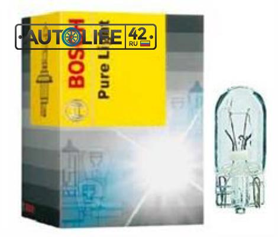 Лампа накаливания Pure Light W5W 12В 5Вт