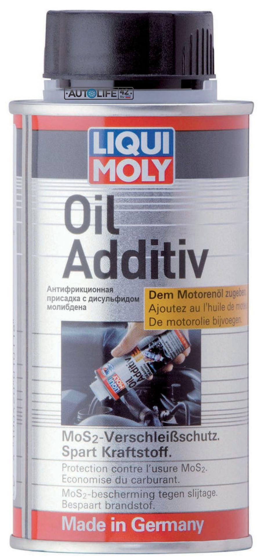 Антифрикционная присадка с дисульфидом молибдена в моторное масло
