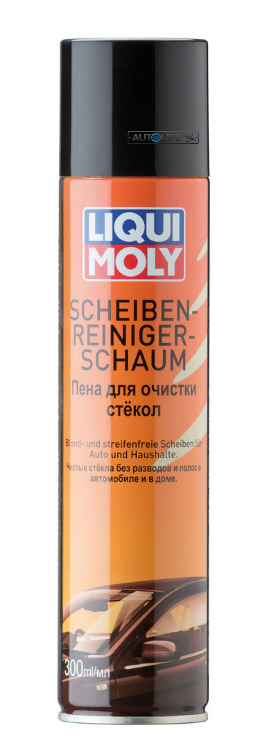 Пена для очистки стекол Scheiben-Reiniger-Schaum