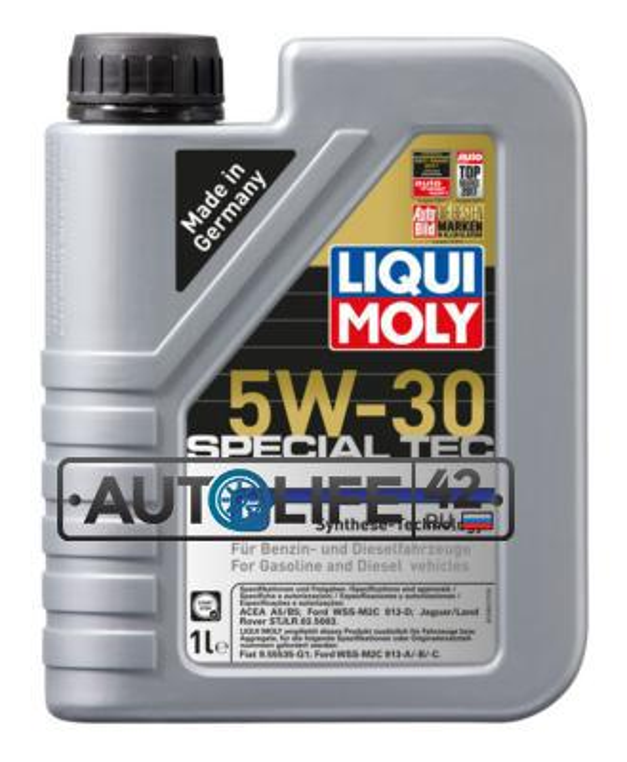 Масло моторное синтетическое Special Tec F 5W-30, 1л