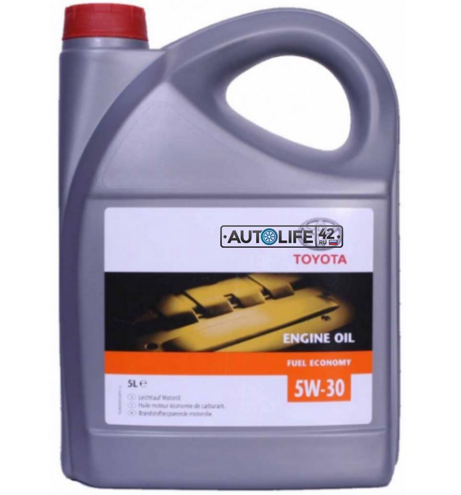 Масло моторное TOYOTA  5W30 синтетическое 5л SL/CF TOYOTA 0888080845