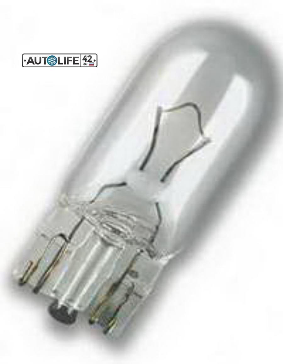 Лампа накаливания W3W 12В 3Вт