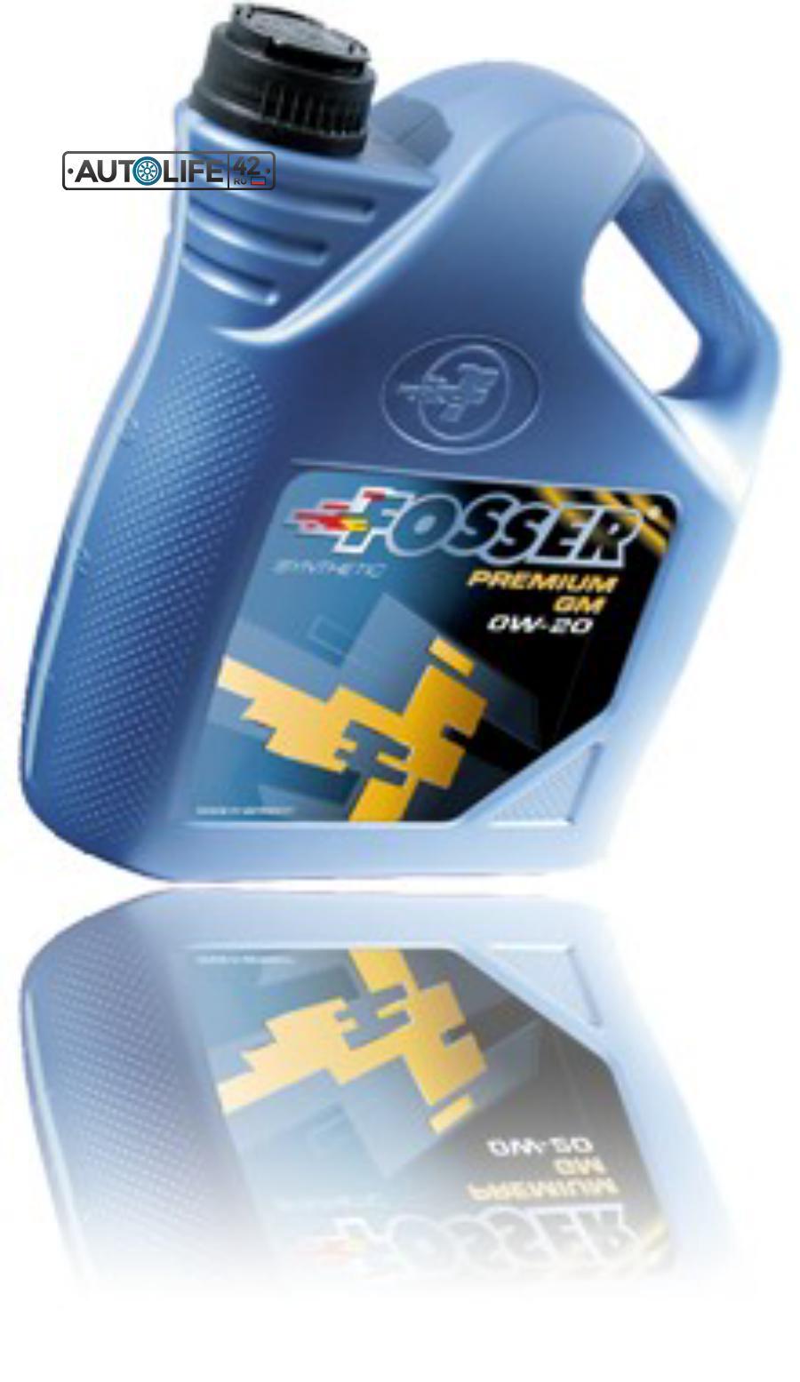 Масло моторное Fosser Premium GM 0W-20 (4л)