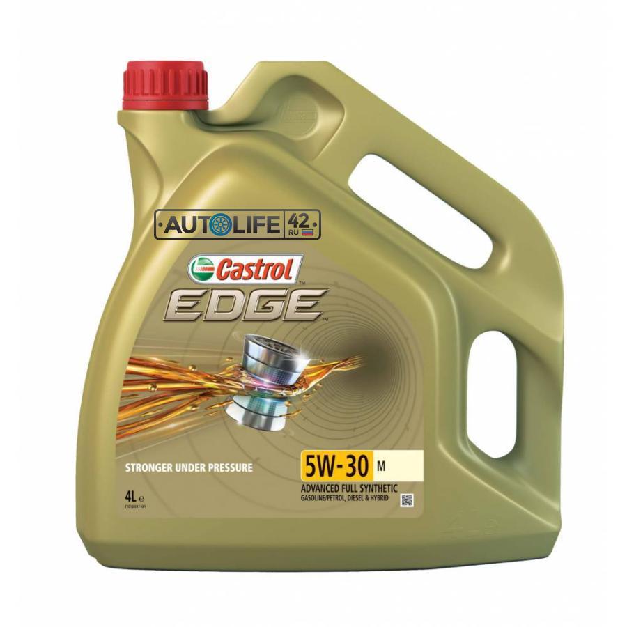 Моторное масло Castrol EDGE 5W-30 M, 4 л.