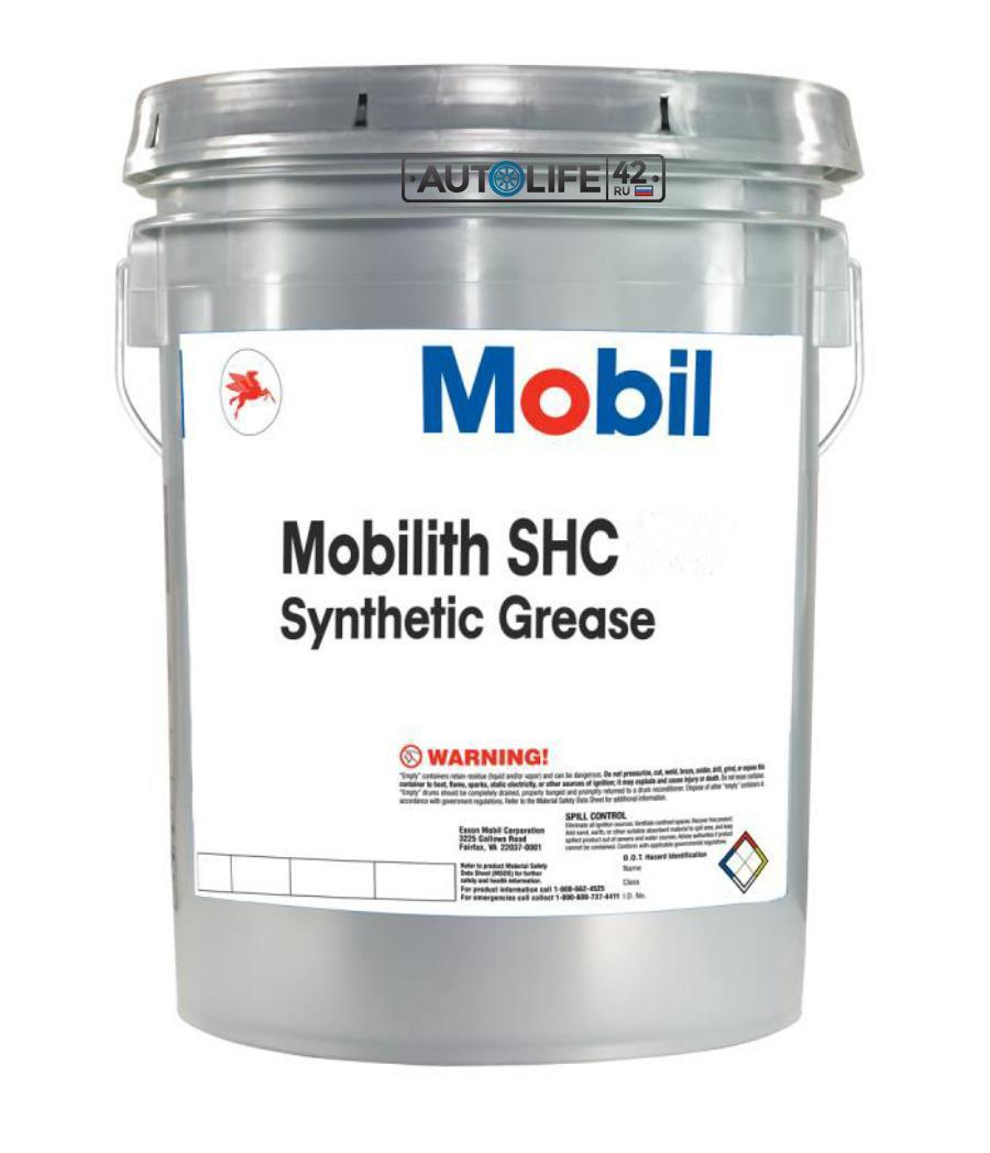 Смазка Mobil  Mobilith SHC 007 пластичная литиевая, 16 кг, NLGI-00 149049 - 1/1 шт.