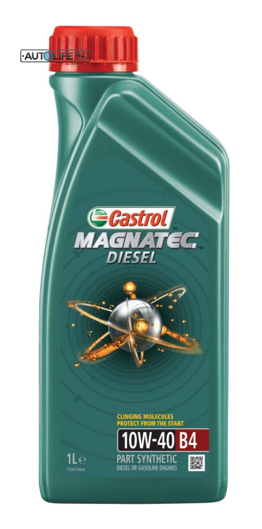 Масло моторное полусинтетическое Magnatec Diesel B4 10W-40, 1л