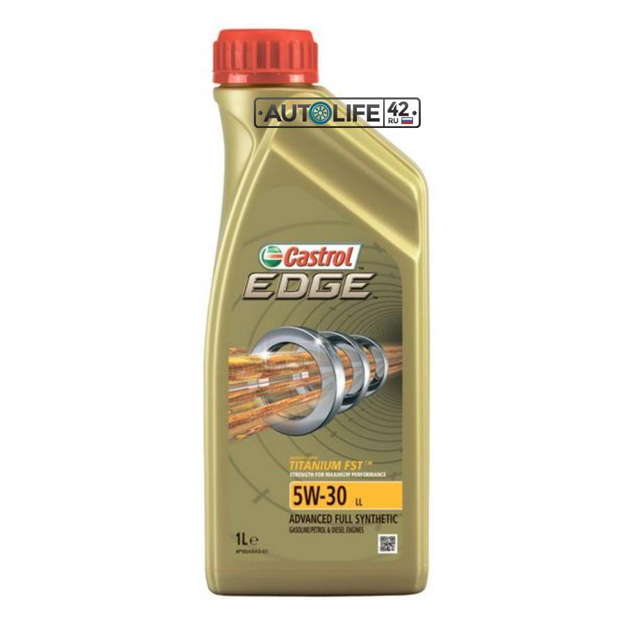 Масло моторное синтетическое EDGE LL Titanium FST 5W-30, 1л
