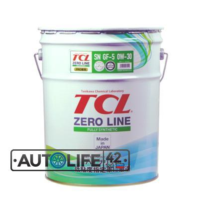 Масло моторное TCL Zero Line Fully Synth, Fuel Economy, SN, GF-5, 0W30, 20л