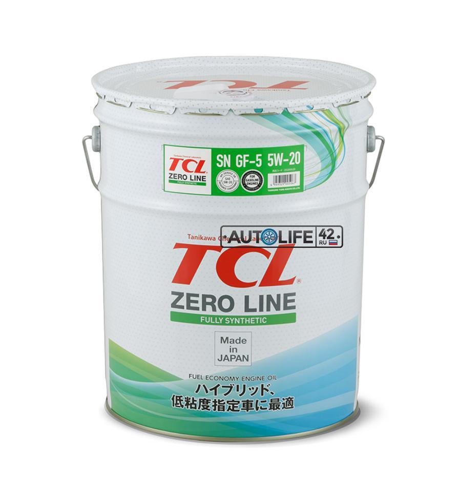 Масло моторное синтетическое Zero Line Fully Synth Fuel Economy 5W-20, 20л
