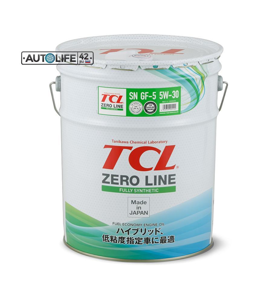 Масло моторное синтетическое Zero Line Fully Synth Fuel Economy 5W-30, 20л