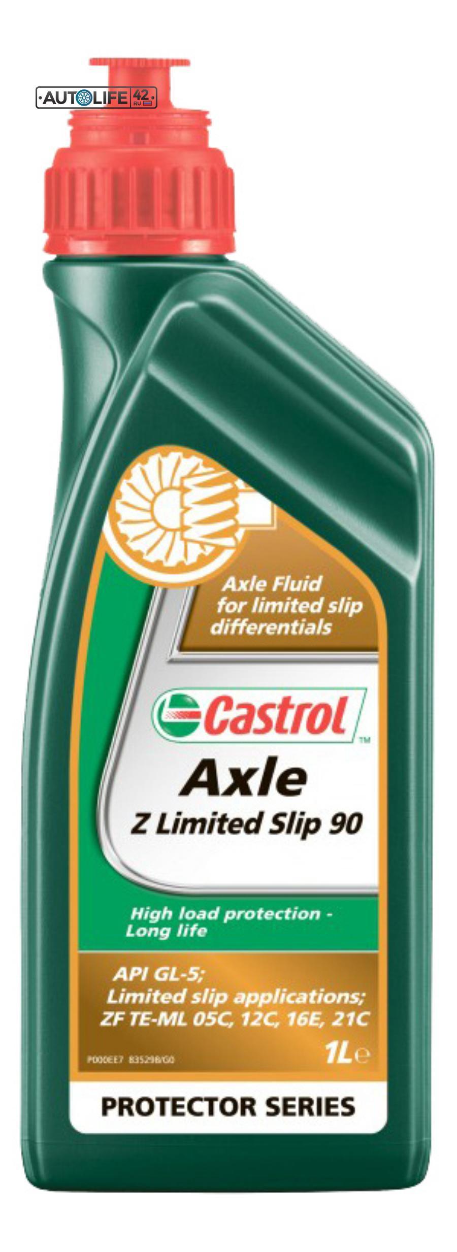 Масло трансмиссионное минеральное Axle Z Limited Slip 90, 1л