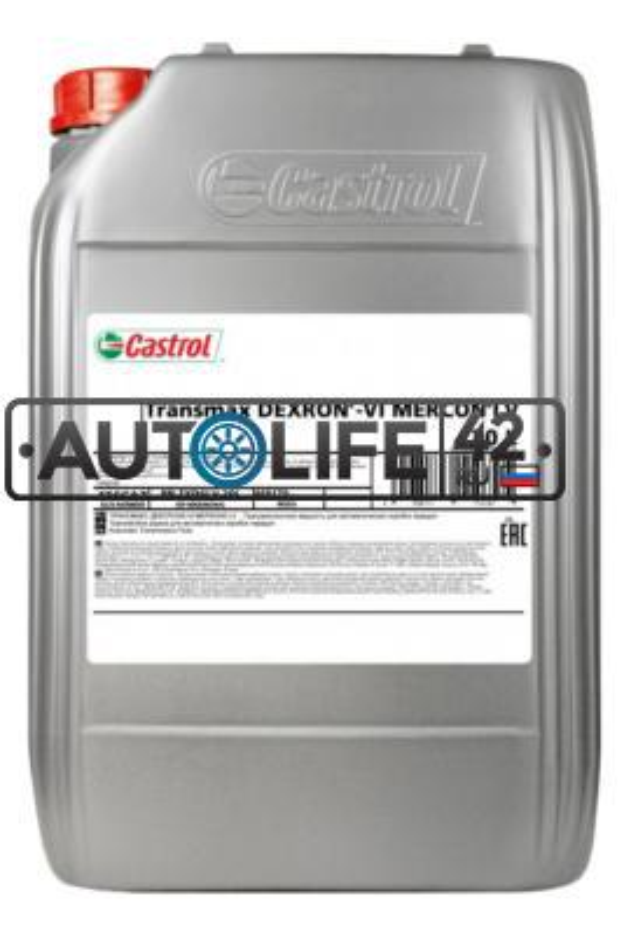 Масло трансмиссионное Transmax DEXRON VI MERCON LV, 20л