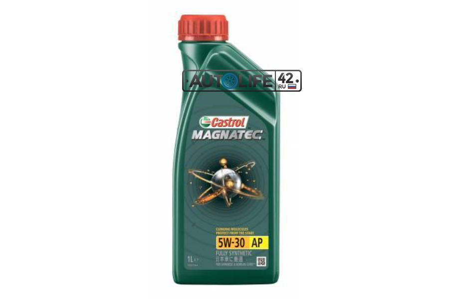 CASTROL 15C93C Масло моторное Magnatec 5W-30AP (1 л.) гр.упак. 12 шт.