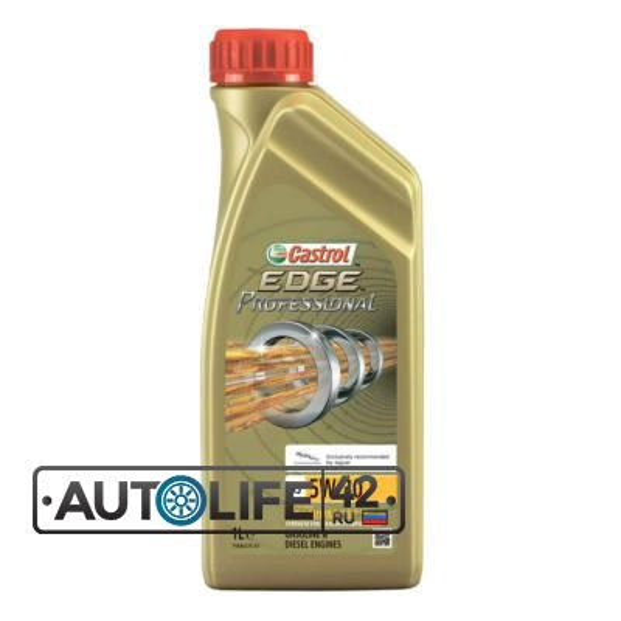 Масло моторное синтетическое EDGE Professional A5 Jaguar Titanium FST 5W-30, 1л