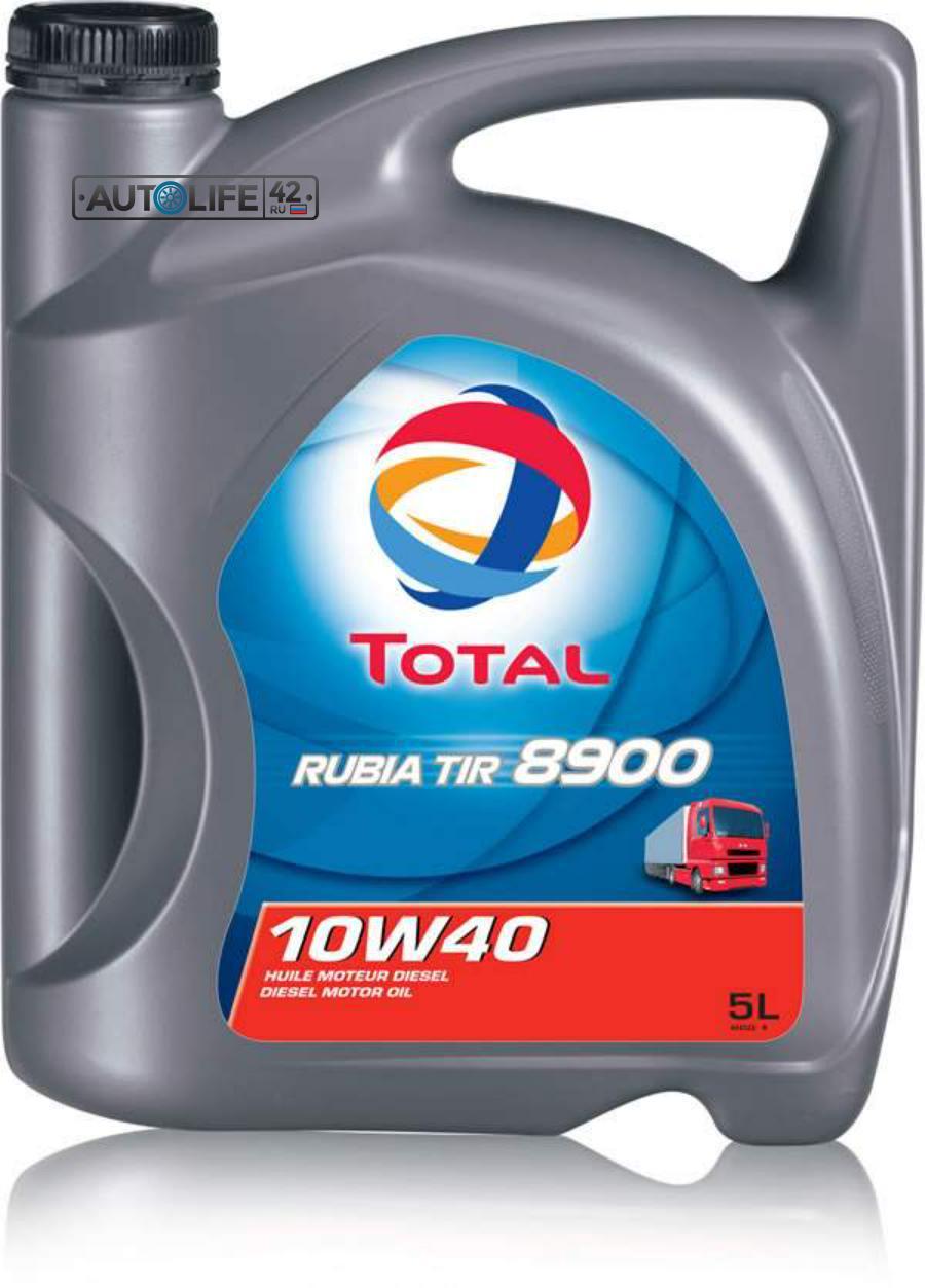 Масло моторное полусинтетическое RUBIA TIR 8900 10W-40, 5л