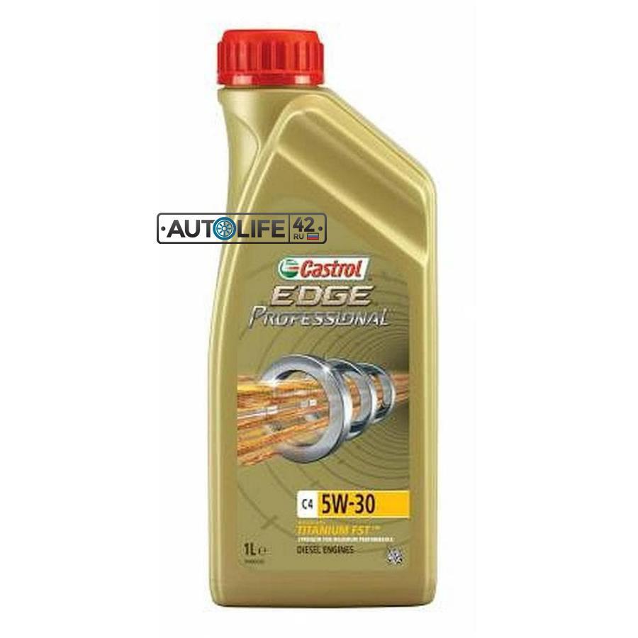 Моторное масло EDGE Professional C4 5W-30 синтетическое, 1 л